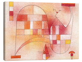 Tableau sur toile  Yellow Pink - Wassily Kandinsky
