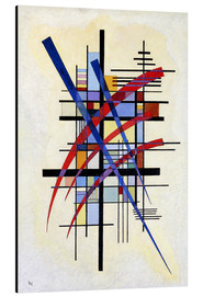Alu-Dibond  Mark with accompaniment - Wassily Kandinsky