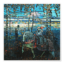 Wassily Kandinsky - Couple on a horse