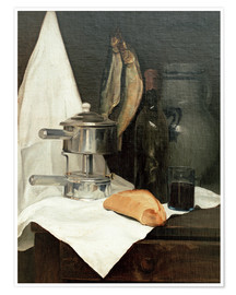 Poster Nature morte aux harengs