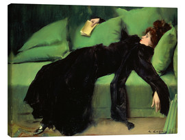 Toile  After the Ball - Ramon Casas i Carbo