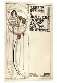 Verre acrylique  House of an art lover: Cover - Charles Rennie Mackintosh