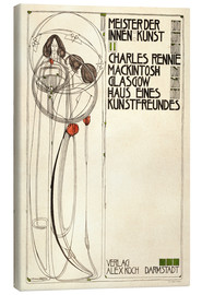 Toile  House of an art lover: Cover - Charles Rennie Mackintosh
