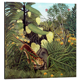 Henri Rousseau - Combat of Tiger and Buffalo