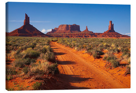 Tableau sur toile  Monument Valley - David Wall