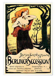 Poster  Poster Berlin Secession - Ludwig von Hofmann