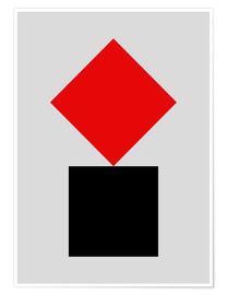 Poster  SUPREMATISM - THE USUAL DESIGNERS