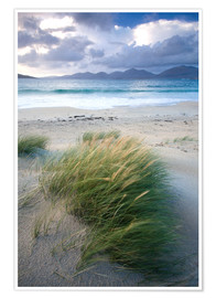 Poster  Beach at Luskentyre - Lee Frost