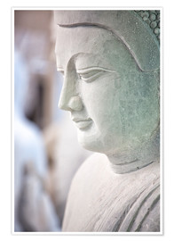 Poster  Buddha statue in Myanmar - Lee Frost