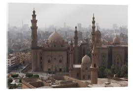 Tableau en verre acrylique  Mosque of Sultan Hassan in Cairo old town, Cairo, Egypt, North Africa, Africa - Martin Child