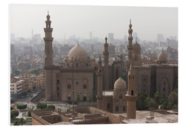 Tableau en PVC  Mosque of Sultan Hassan in Cairo old town, Cairo, Egypt, North Africa, Africa - Martin Child