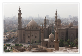 Poster  Mosque of Sultan Hassan in Cairo old town, Cairo, Egypt, North Africa, Africa - Martin Child