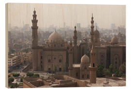 Tableau en bois  Mosque of Sultan Hassan in Cairo old town, Cairo, Egypt, North Africa, Africa - Martin Child
