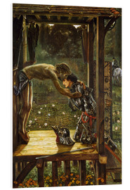 Tableau en PVC  The Merciful Knight - Edward Burne-Jones