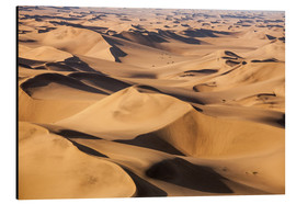 Tableau en aluminium  Aerial view of the dunes of the Namib Desert, Namibia, Africa - Roberto Moiola