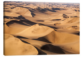 Tableau sur toile  Aerial view of the dunes of the Namib Desert, Namibia, Africa - Roberto Moiola