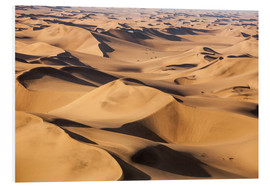 Tableau en PVC  Aerial view of the dunes of the Namib Desert, Namibia, Africa - Roberto Sysa Moiola