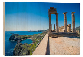 Bois  Acropolis of Lindos, Rhodes, Dodecanese Islands, Greek Islands, Greece, Europe - Michael Runkel