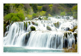 Poster  Krka national park - Alex Robinson