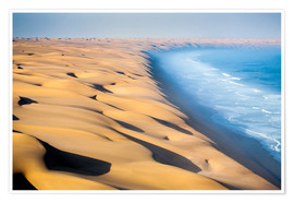 Poster  Namib Desert on the Atlantic - Roberto Moiola