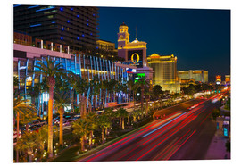Tableau en PVC  The Strip, Las Vegas, Nevada, United States of America, North America - Alan Copson