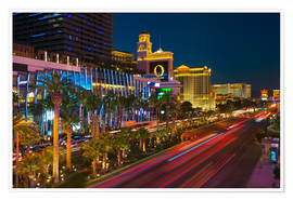 Poster  The Strip, Las Vegas, Nevada, United States of America, North America - Alan Copson