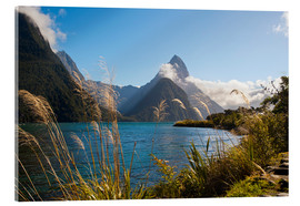 Verre acrylique  Mitre Peak, Milford Sound - Matthew Williams-Ellis
