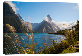 Toile  Mitre Peak, Milford Sound - Matthew Williams-Ellis