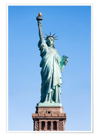 Poster  Statue of Liberty in New York USA - Jan Christopher Becke