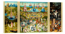 Verre acrylique  The Garden of Earthly Delights - Hieronymus Bosch