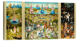 Toile  The Garden of Earthly Delights - Hieronymus Bosch
