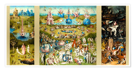 Poster  The Garden of Earthly Delights - Hieronymus Bosch