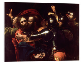 Tableau en PVC  L'Arrestation du Christ - Michelangelo Merisi (Caravaggio)