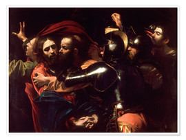 Poster  Arrest of Christ - Michelangelo Merisi (Caravaggio)