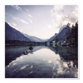 Poster Hintersee in Ramsau