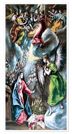 Poster The Annunciation