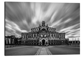 Tableau en aluminium  Semperoper de Dresde - Robin Oelschlegel