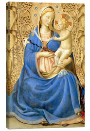 Tableau sur toile  Madonna with Child - Fra Angelico