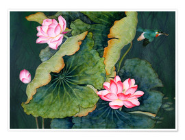 Poster  Lotuses