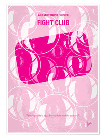 Poster Fight Club (anglais)