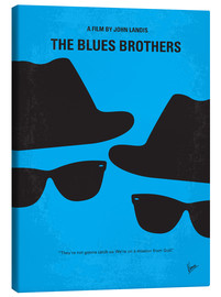Tableau sur toile  Les Blues Brothers (anglais) - chungkong
