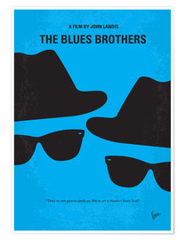 Poster Les Blues Brothers (anglais)
