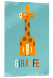 Verre acrylique  Baby Giraffe for the nursery - Petit Griffin