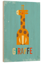 Bois  Baby Giraffe for the nursery - Petit Griffin