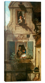 Tableau sur toile  The intercepted love letter - Carl Spitzweg