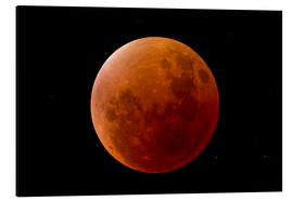 Tableau en aluminium  Blood Moon September 2015 - MonarchC