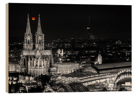Bois  Blutmond over the Cologne Cathedral - rclassen