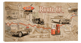 Bois  Route 66 Map - Georg Huber