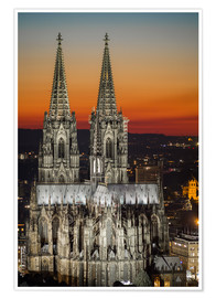 Poster  cathedral of cologne - rclassen