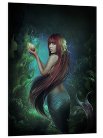 Tableau en PVC  Deep sea 2 - Elena Dudina